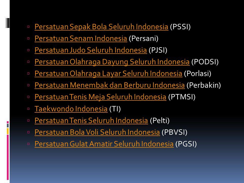 Persatuan Sepak Bola Seluruh Indonesia (PSSI)