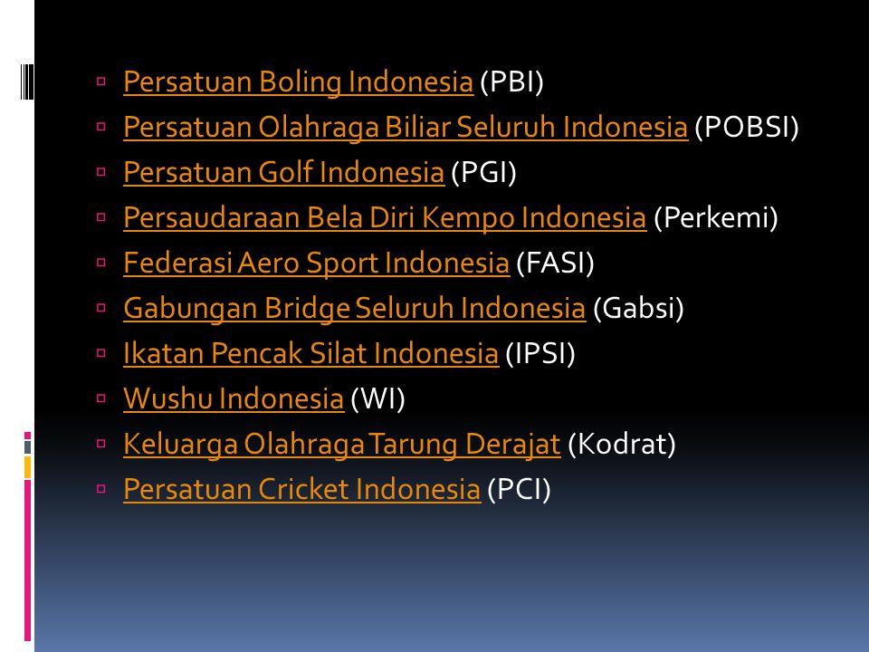 Persatuan Boling Indonesia (PBI)