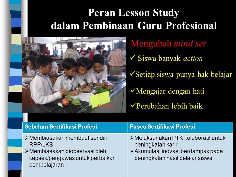 dalam Pembinaan Guru Profesional