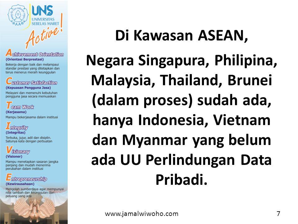 Di Kawasan ASEAN,