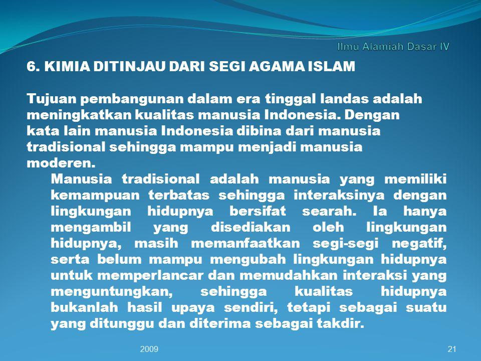 6. KIMIA DITINJAU DARI SEGI AGAMA ISLAM