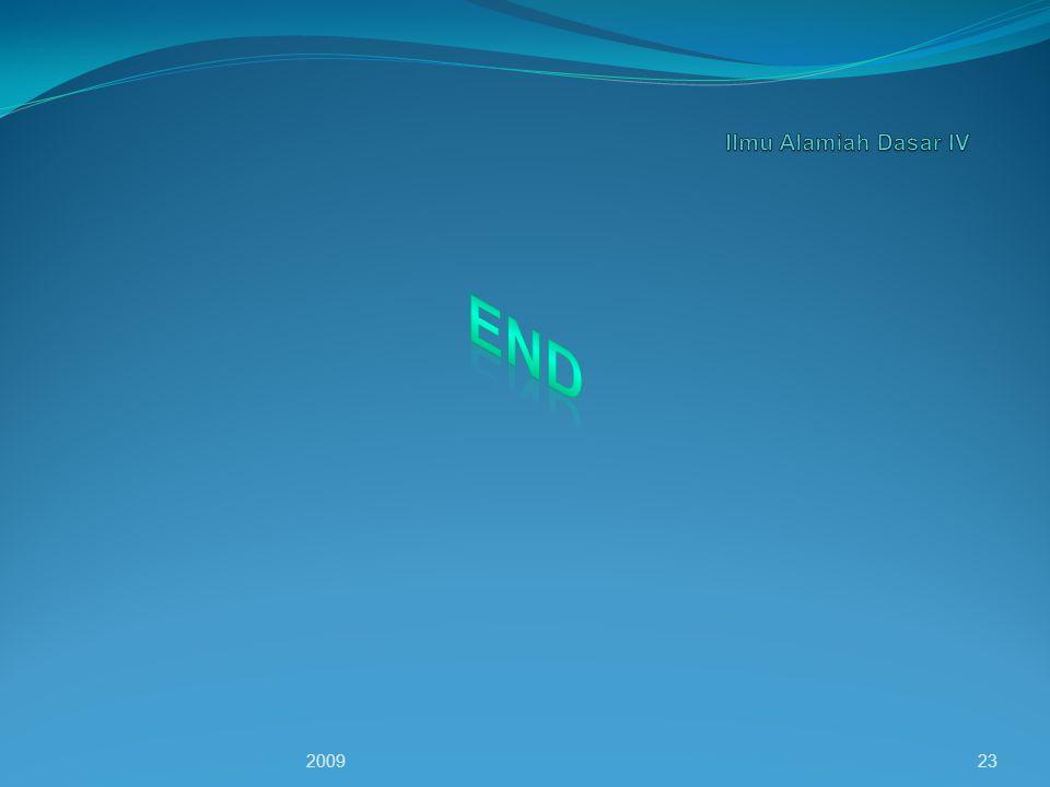 Ilmu Alamiah Dasar IV END 2009
