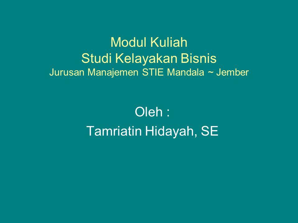 Oleh : Tamriatin Hidayah, SE