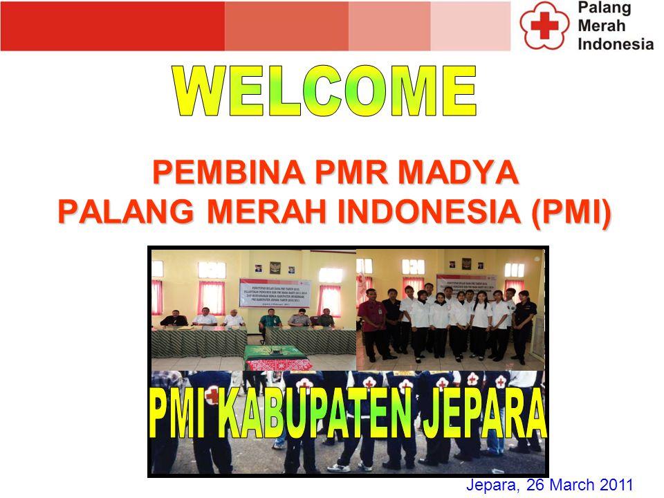 PEMBINA PMR MADYA PALANG MERAH INDONESIA (PMI)