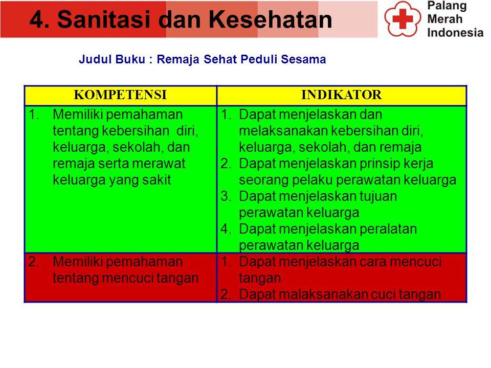 4. Sanitasi dan Kesehatan