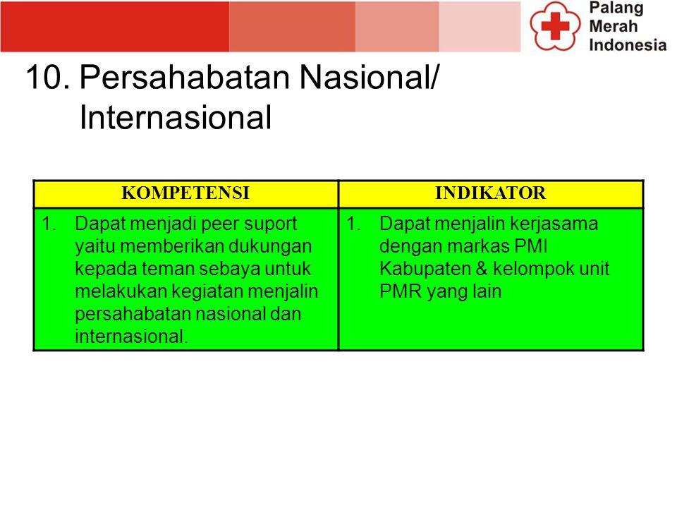 Persahabatan Nasional/ Internasional