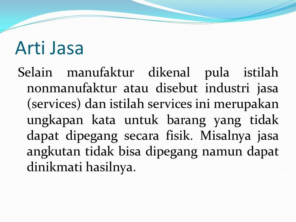 Arti Jasa