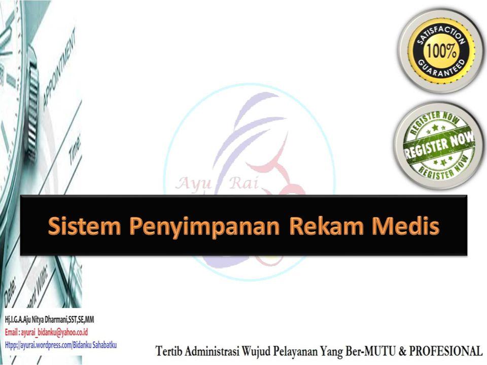 Sistem Penyimpanan Rekam Medis