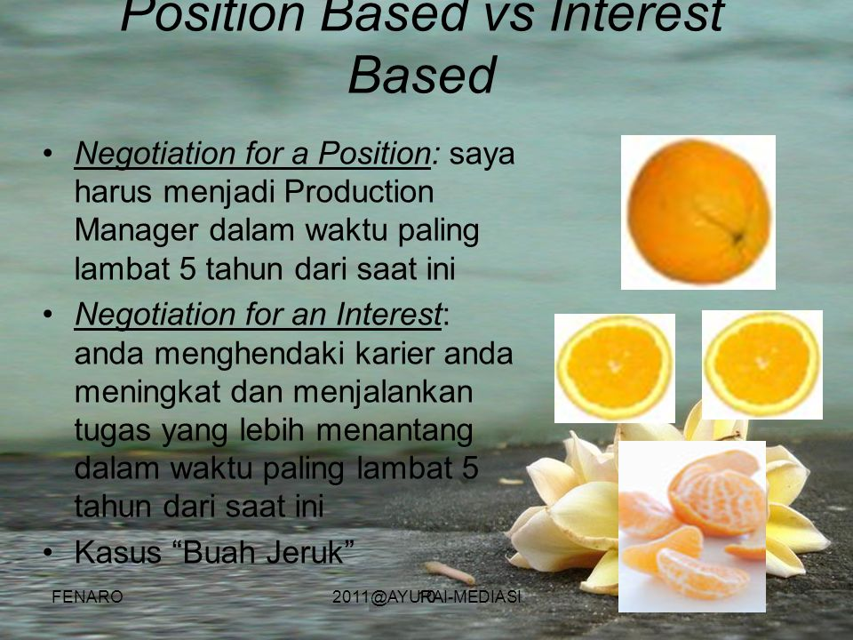 Position Based vs Interest Based