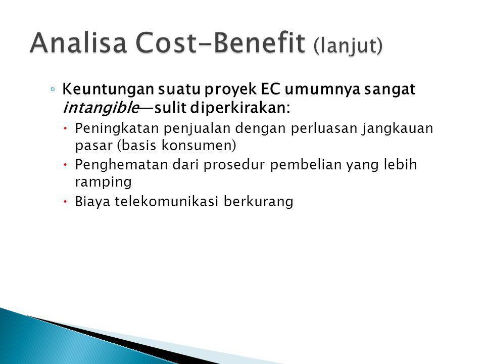 Analisa Cost-Benefit (lanjut)