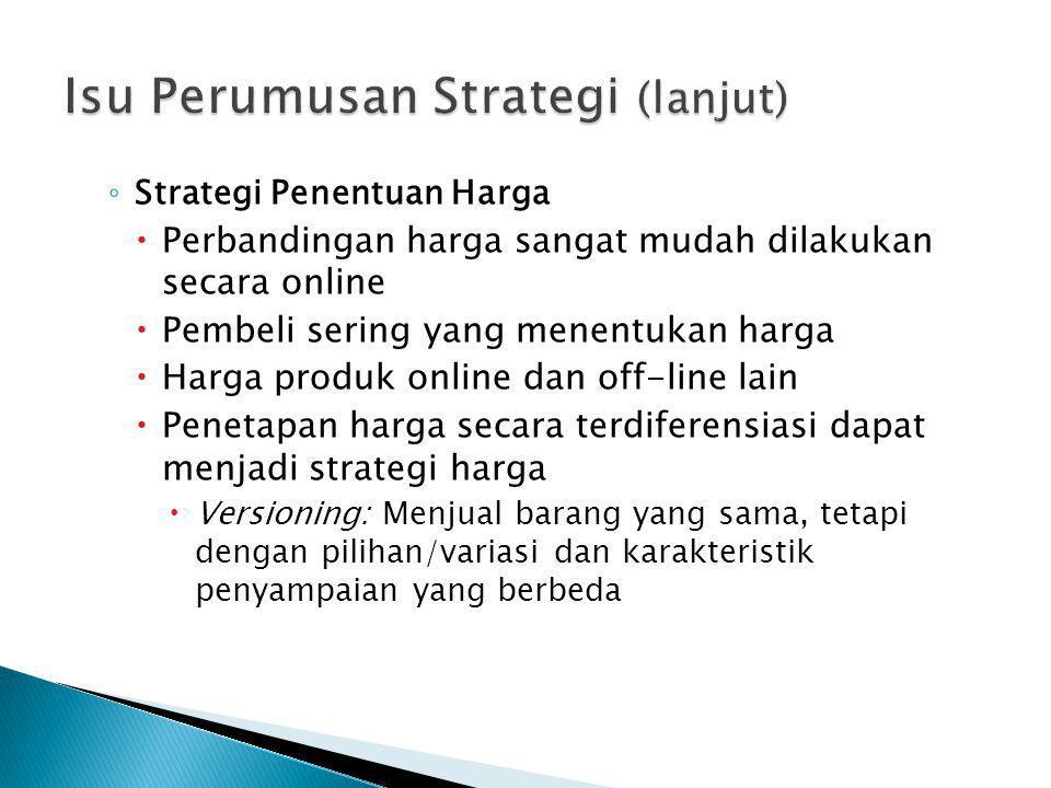Isu Perumusan Strategi (lanjut)