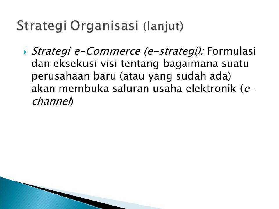 Strategi Organisasi (lanjut)
