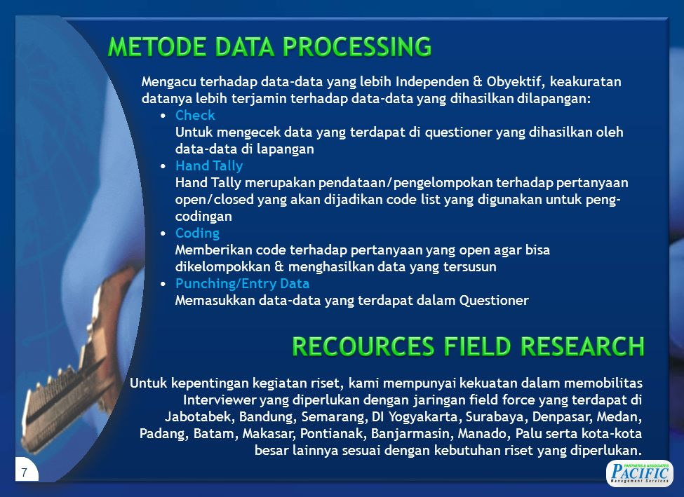 Client's Briefing PROSES SURVEI REPORT INTERPRETATION/ ANALYSIS DATA