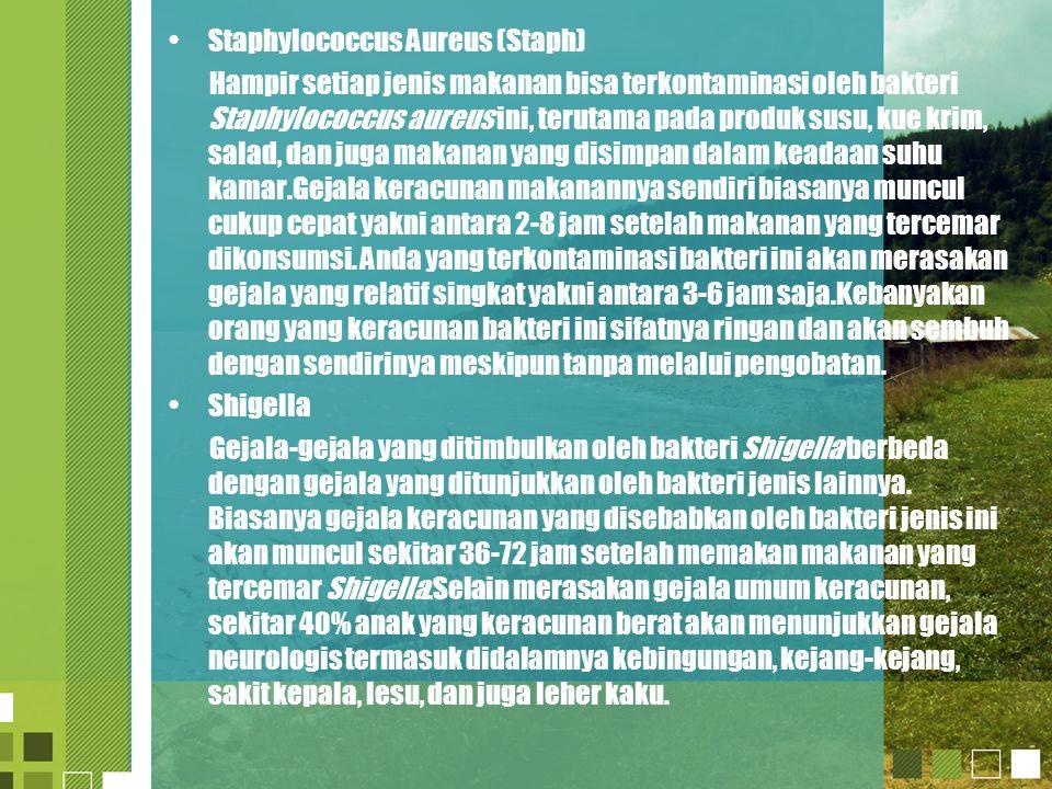 Staphylococcus Aureus (Staph)