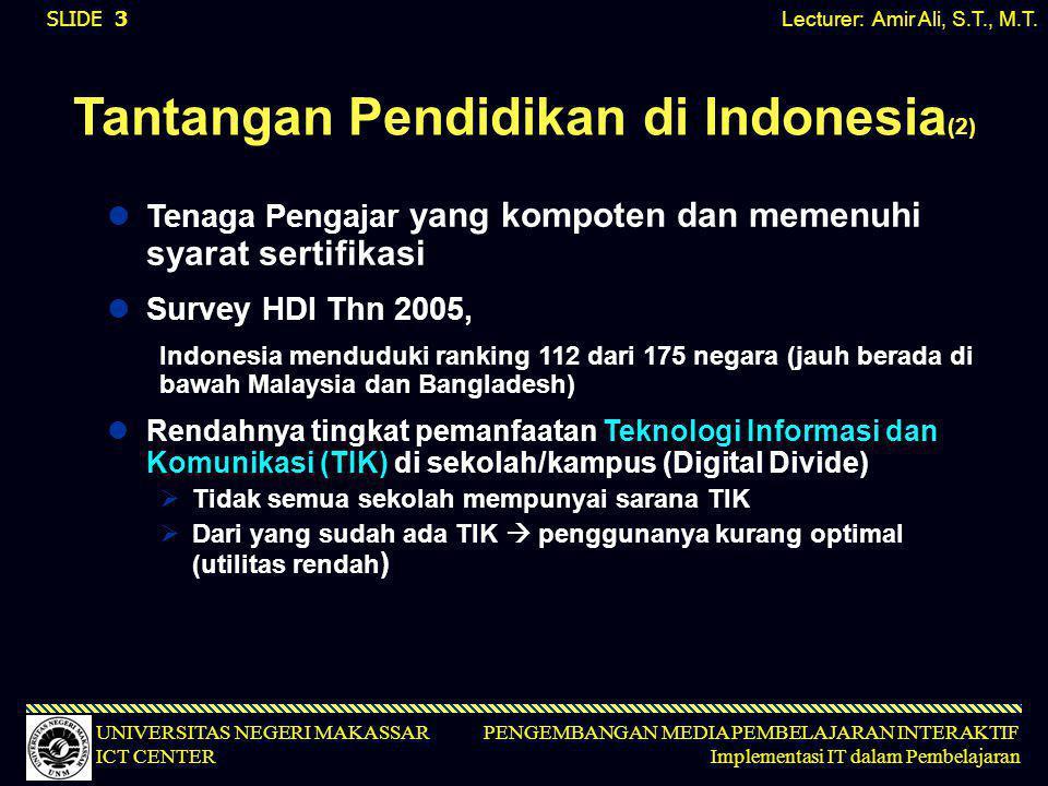Tantangan Pendidikan di Indonesia(2)