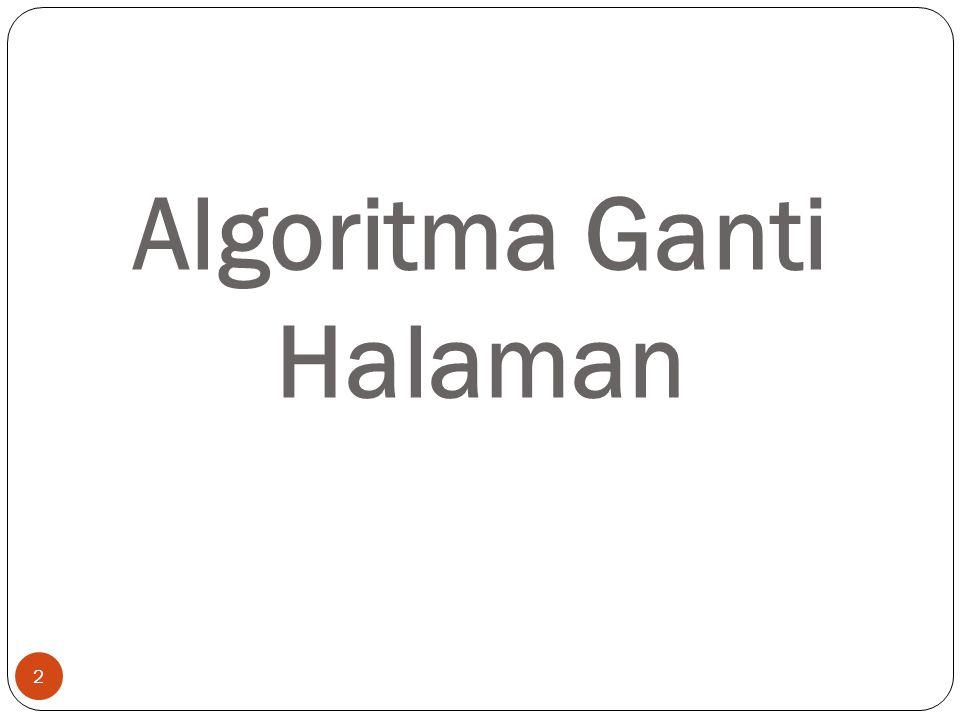 Algoritma Ganti Halaman