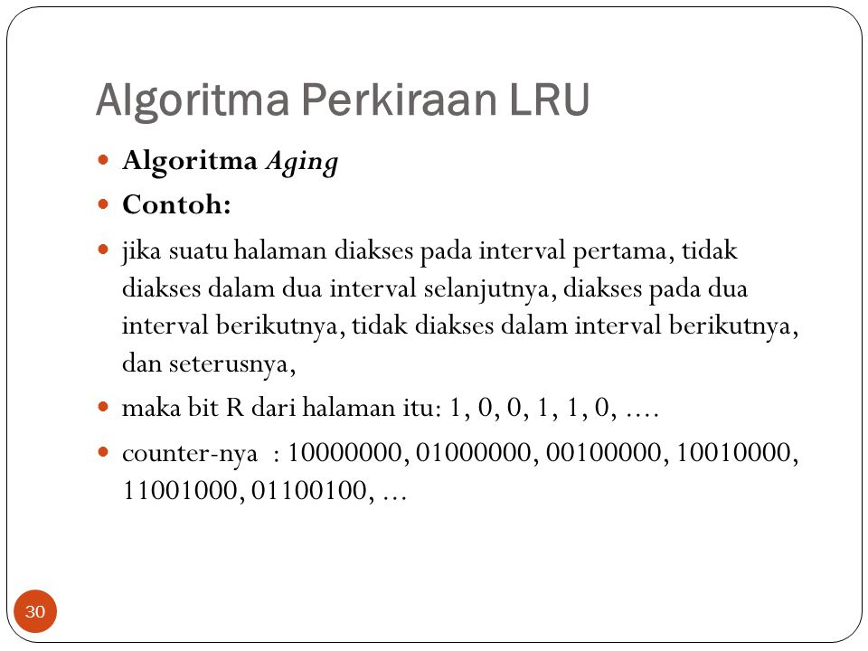 Algoritma Perkiraan LRU