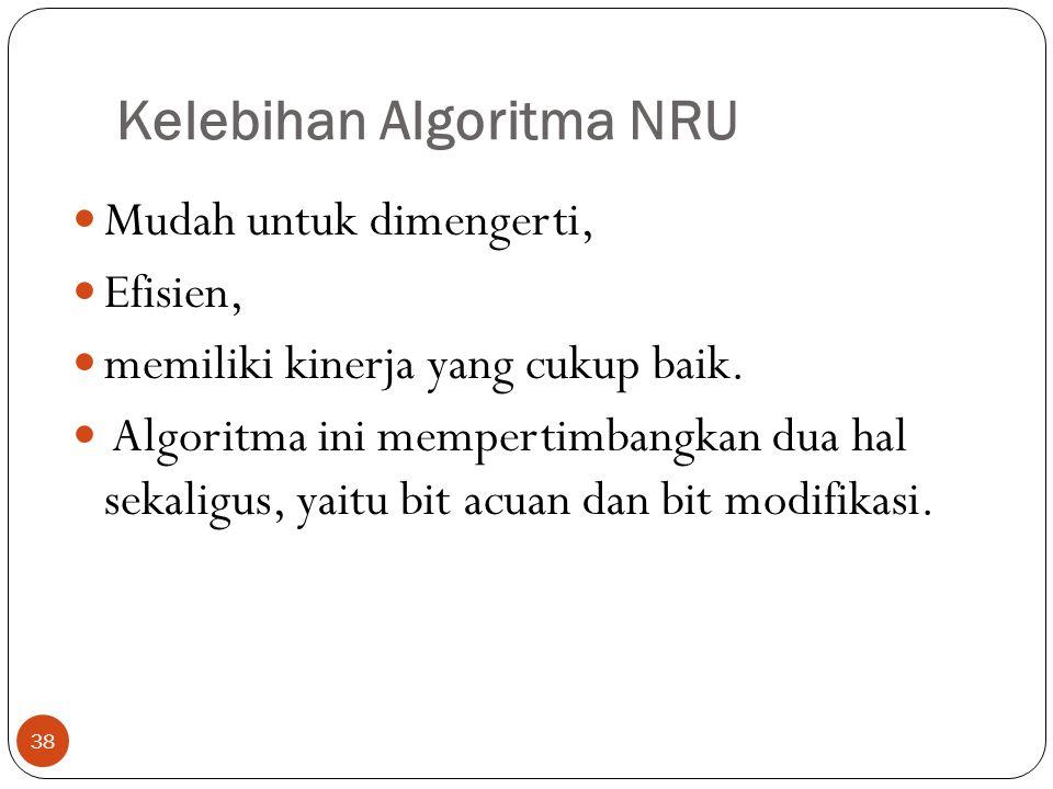 Kelebihan Algoritma NRU