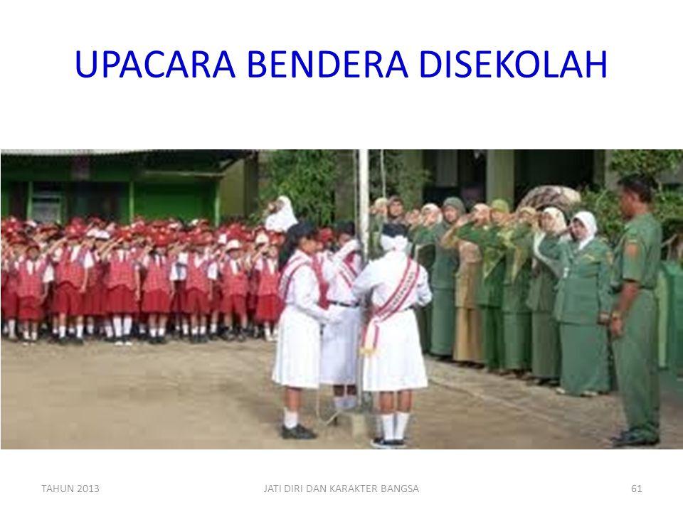 UPACARA BENDERA DISEKOLAH