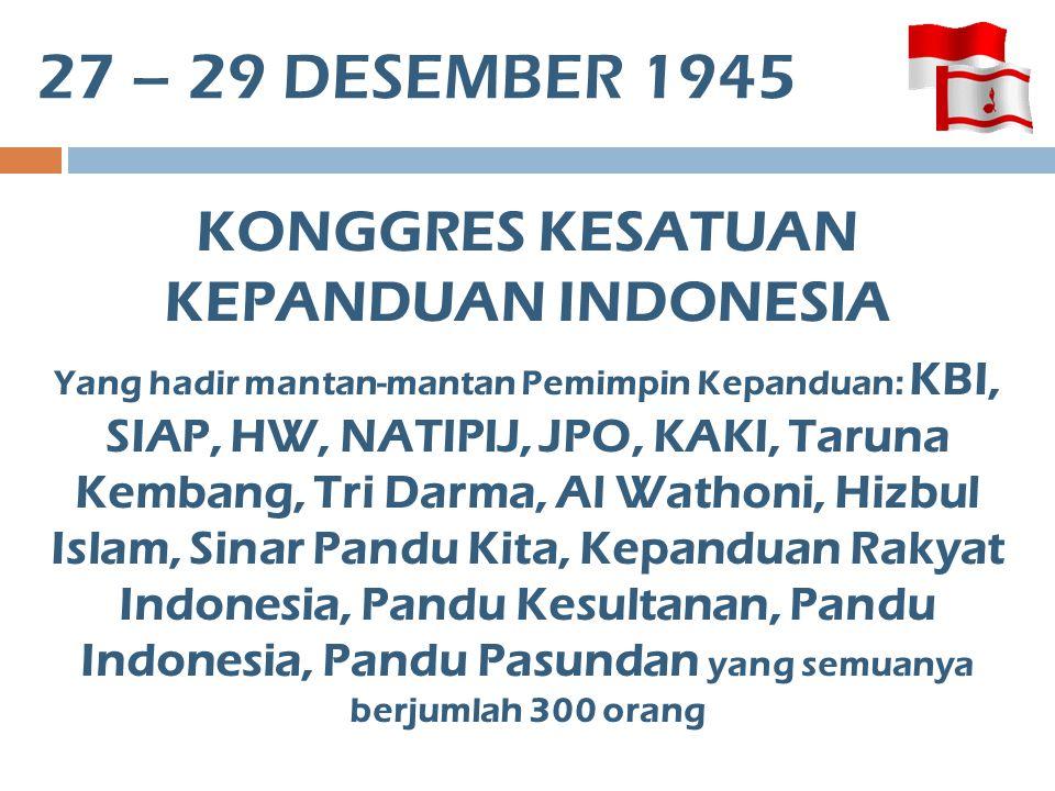 KONGGRES KESATUAN KEPANDUAN INDONESIA