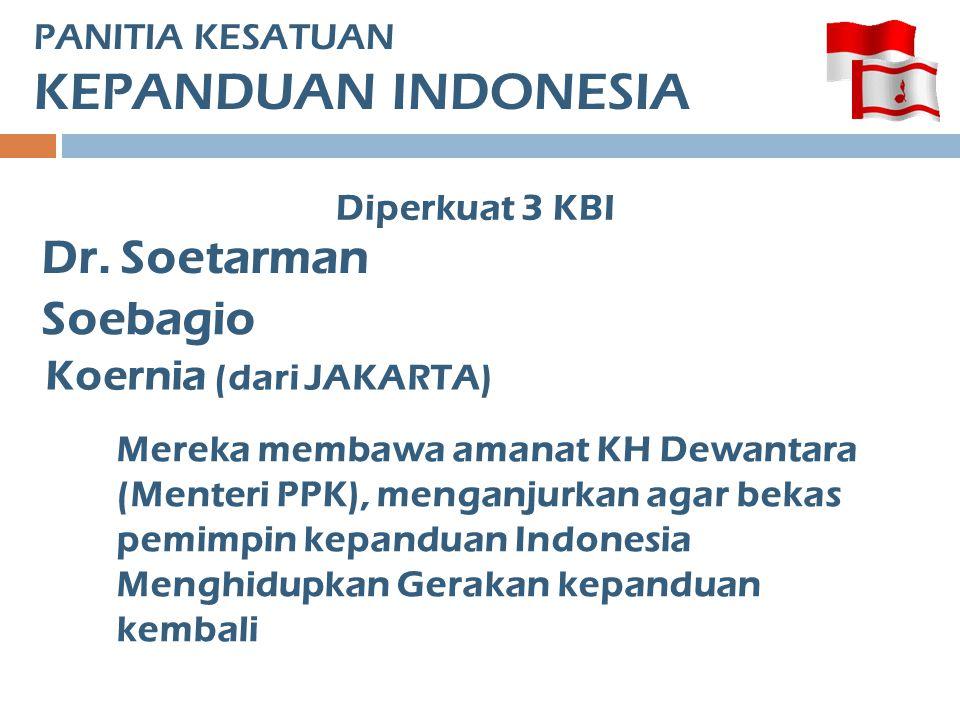 PANITIA KESATUAN KEPANDUAN INDONESIA