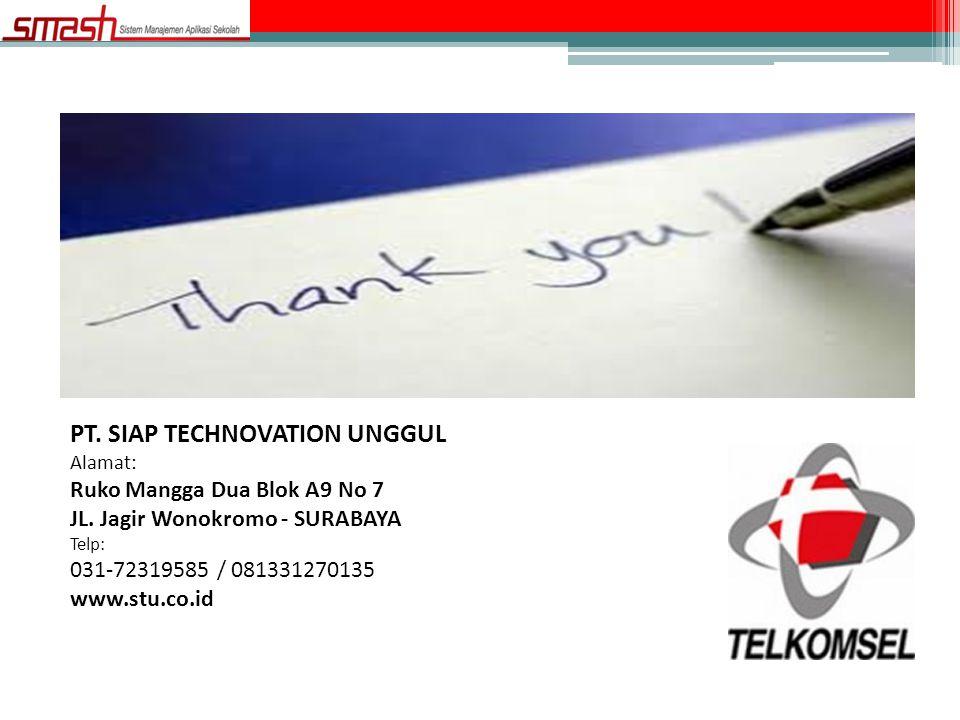 PT. SIAP TECHNOVATION UNGGUL