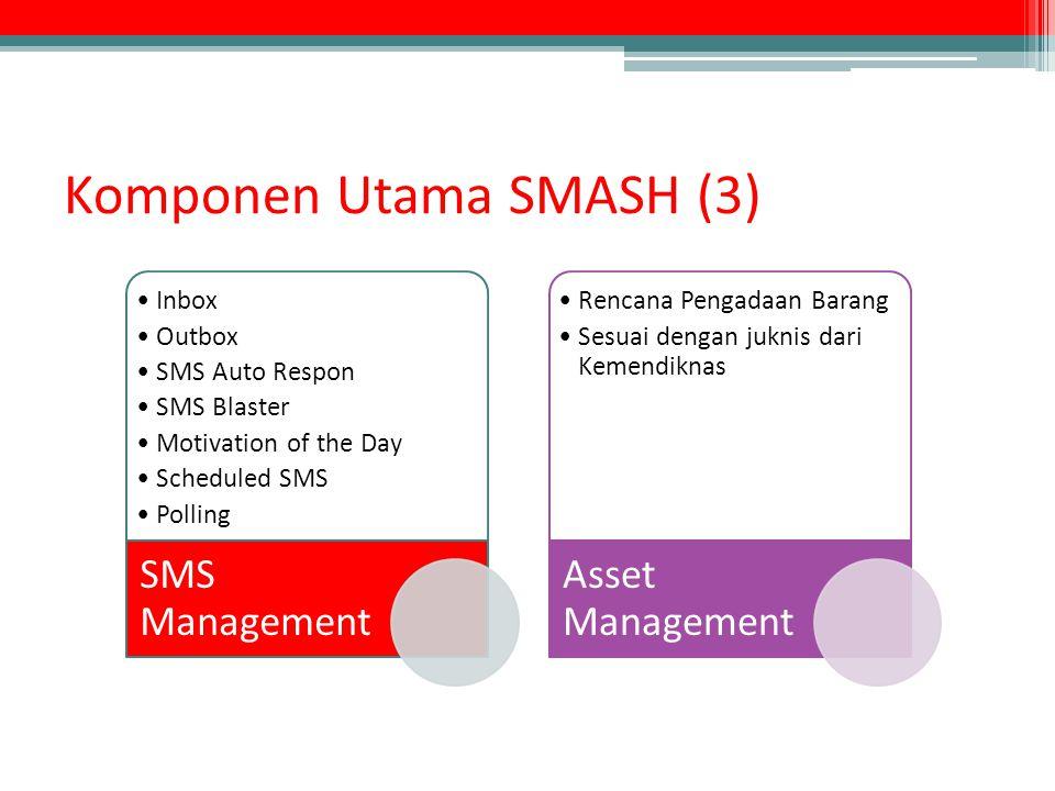 Komponen Utama SMASH (3)