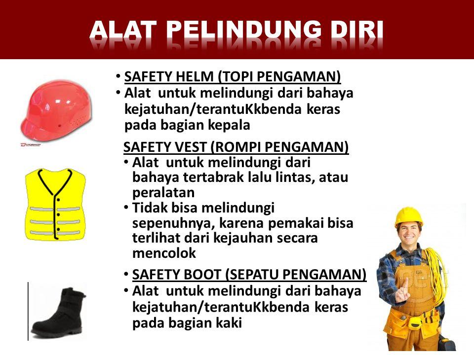ALAT PELINDUNG DIRI SAFETY HELM (TOPI PENGAMAN)
