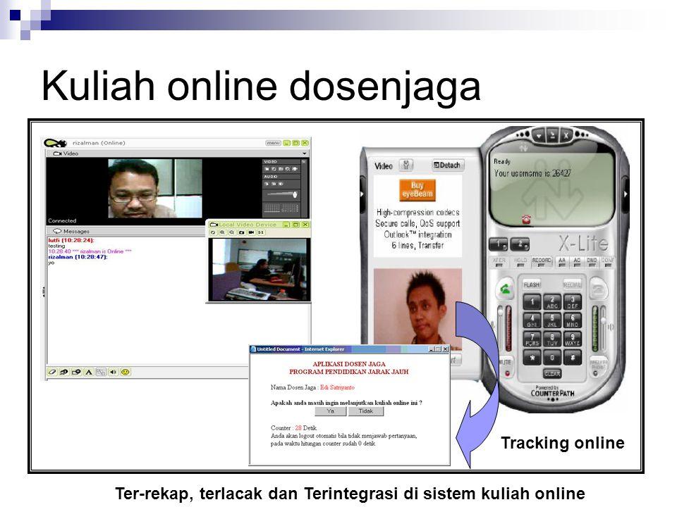 Kuliah online dosenjaga