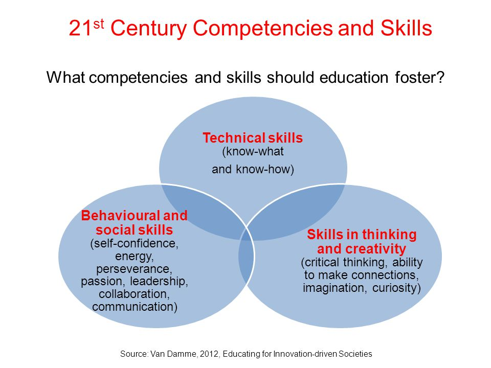 21st Century Competencies and Skills