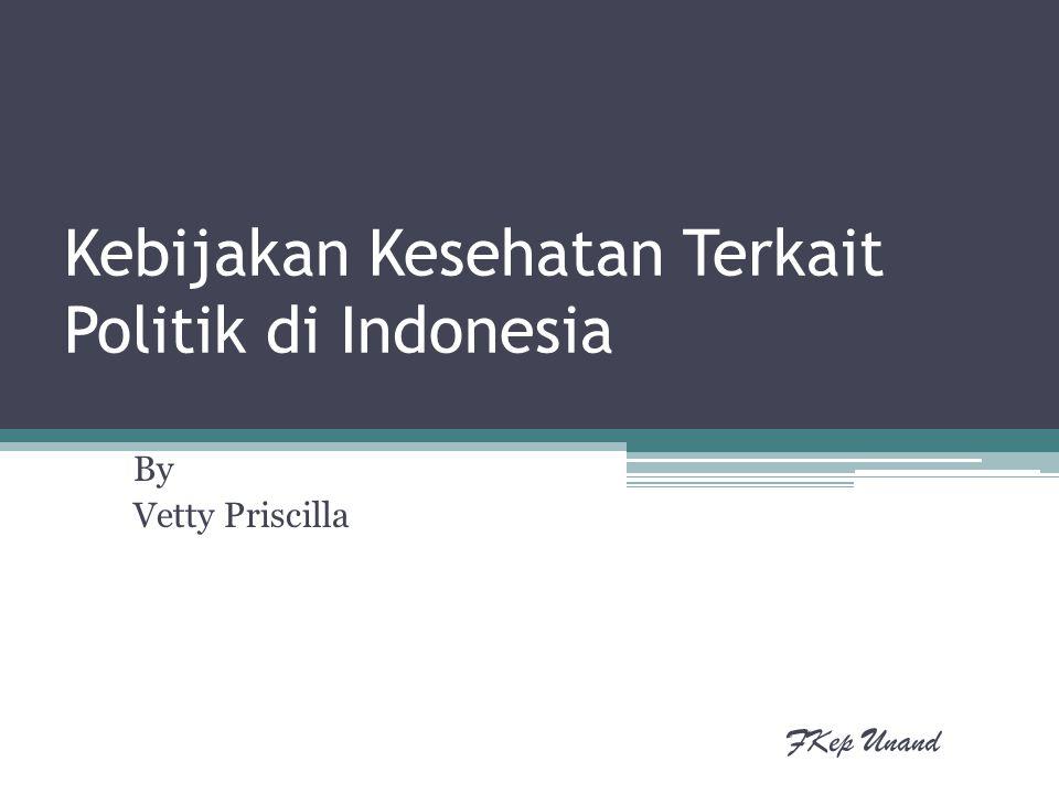 Kebijakan Kesehatan Terkait Politik di Indonesia
