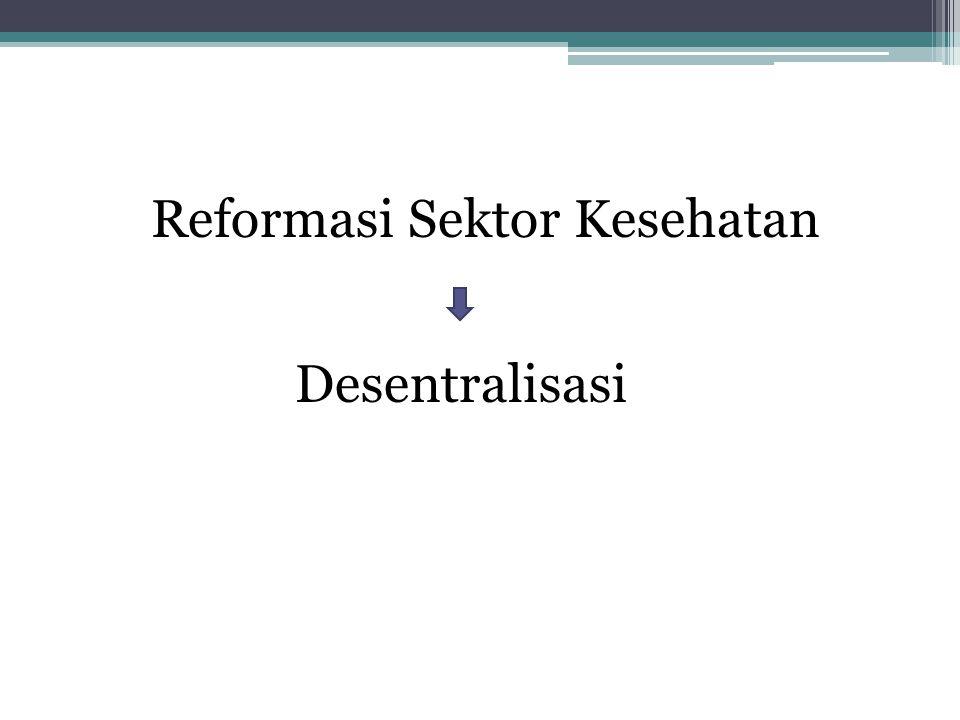Reformasi Sektor Kesehatan