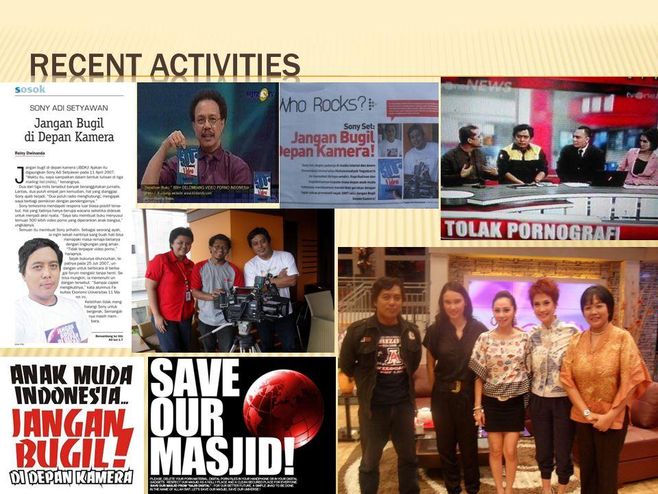 Recent activities