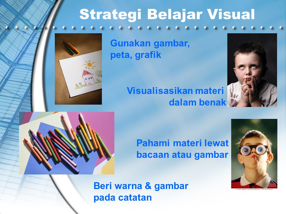 Strategi Belajar Visual