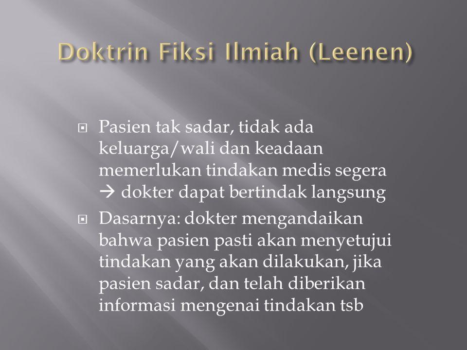 Doktrin Fiksi Ilmiah (Leenen)