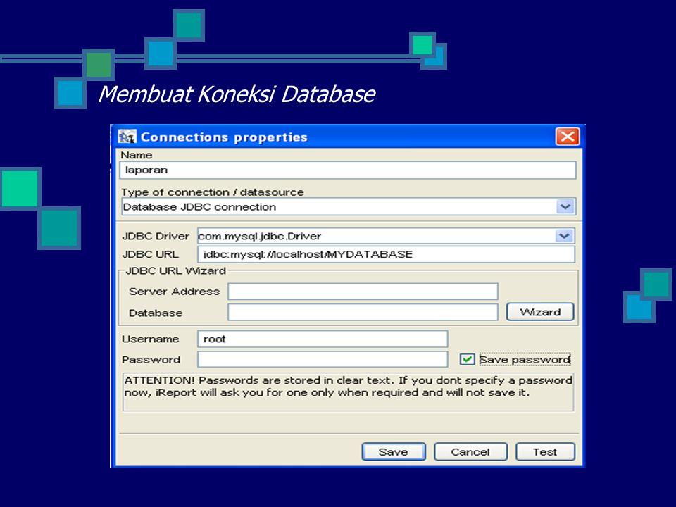 Membuat Koneksi Database