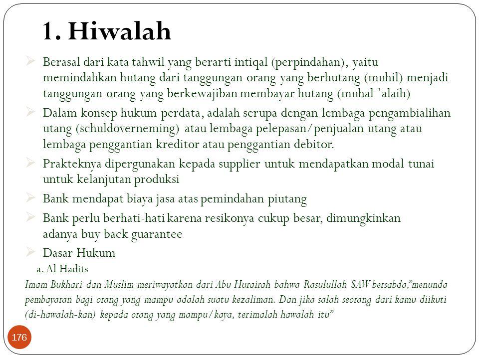 1. Hiwalah