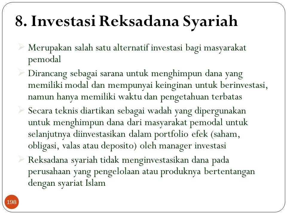 8. Investasi Reksadana Syariah