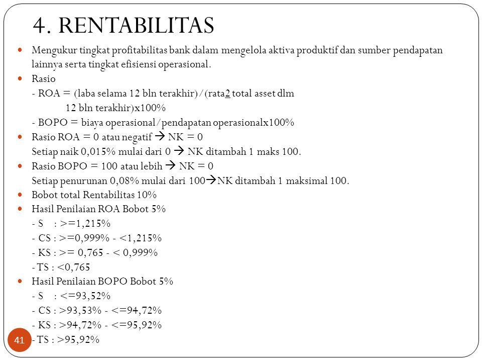 4. RENTABILITAS