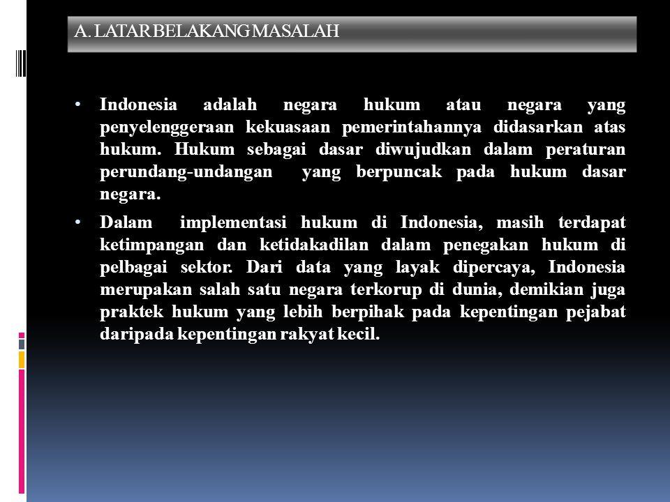 A. LATAR BELAKANG MASALAH