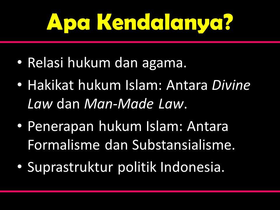 Apa Kendalanya Relasi hukum dan agama.