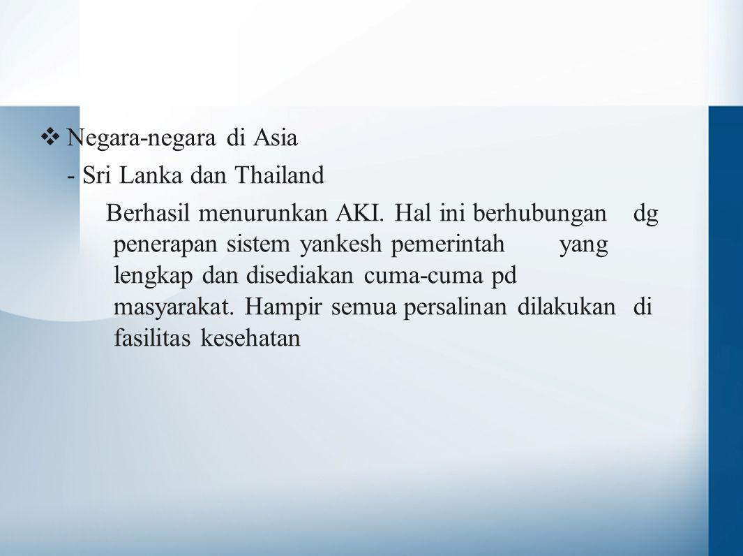 Negara-negara di Asia - Sri Lanka dan Thailand.
