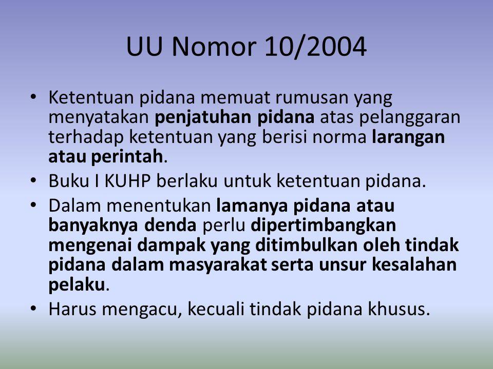 UU Nomor 10/2004
