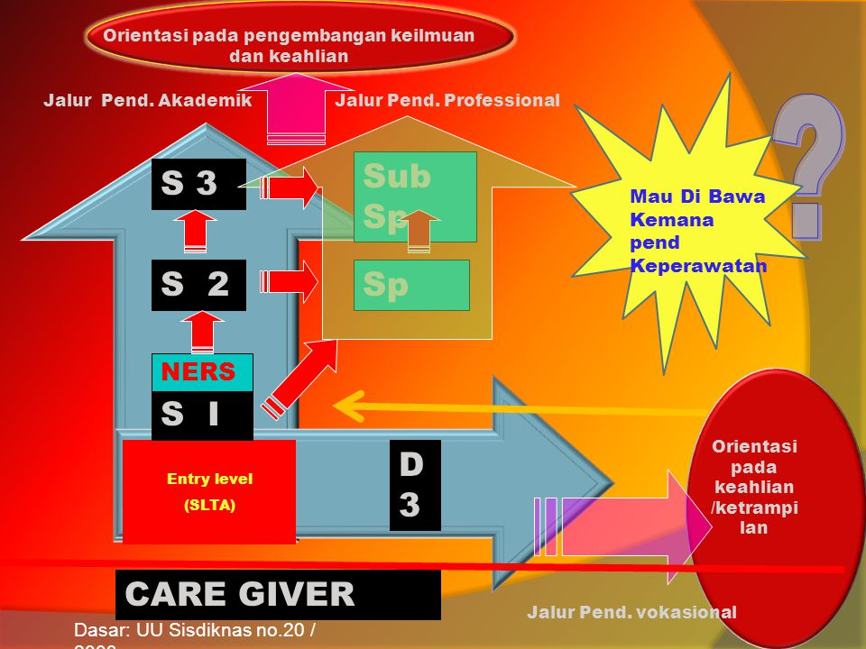 Sub Sp S 3 S 2 Sp S I D3 CARE GIVER NERS