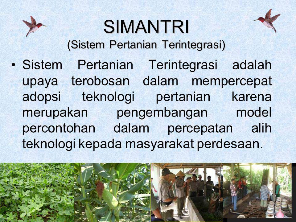 SIMANTRI (Sistem Pertanian Terintegrasi)