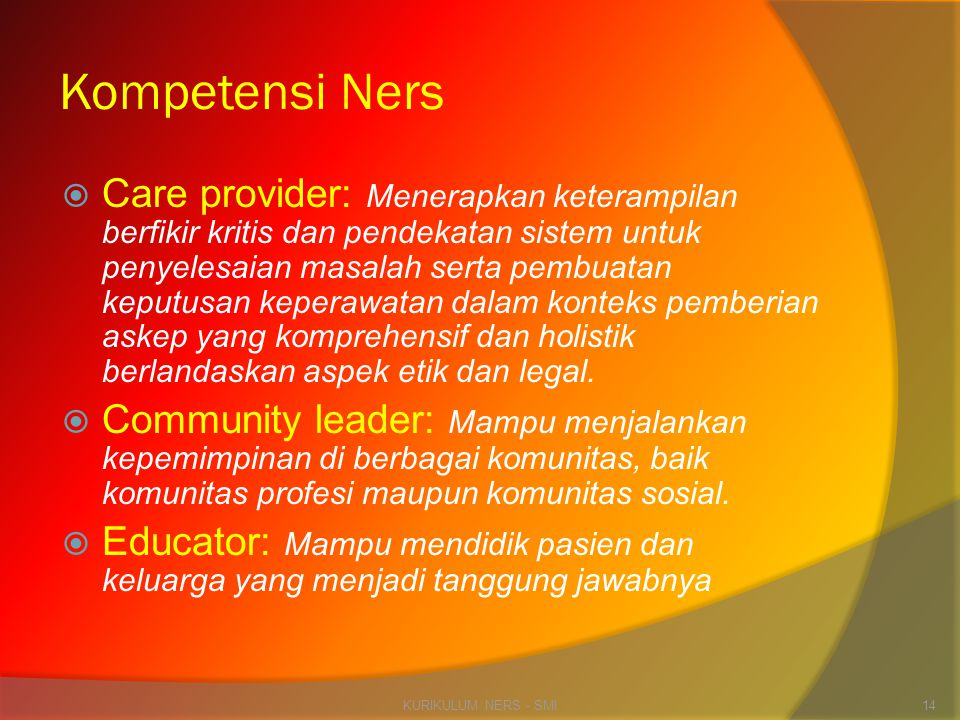 Kompetensi Ners
