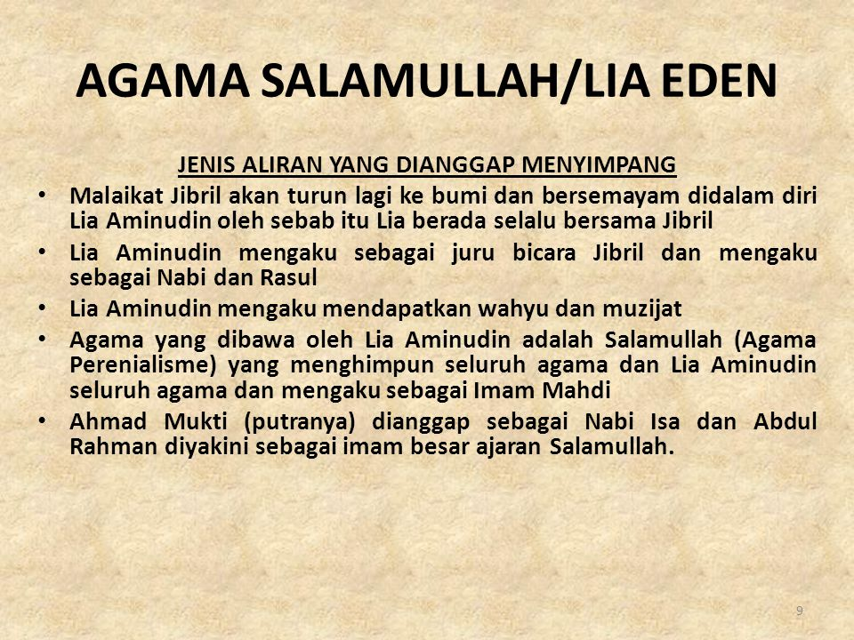 AGAMA SALAMULLAH/LIA EDEN