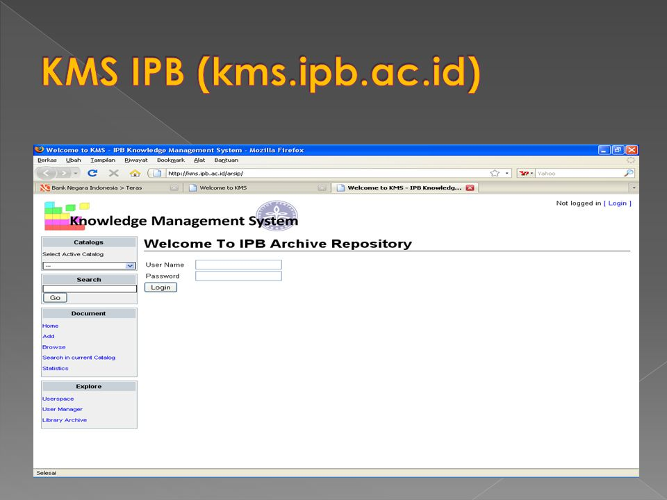 KMS IPB (kms.ipb.ac.id)