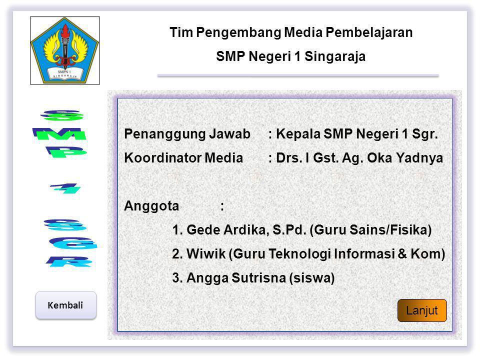 Tim Pengembang Media Pembelajaran