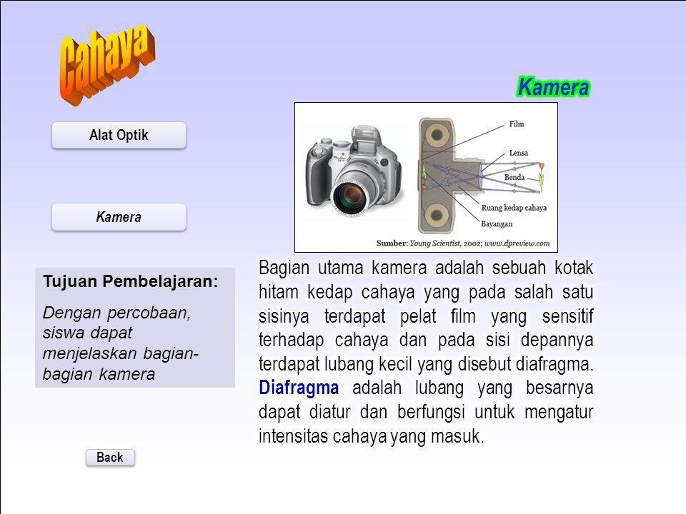 Cahaya Kamera. Alat Optik. Kamera.
